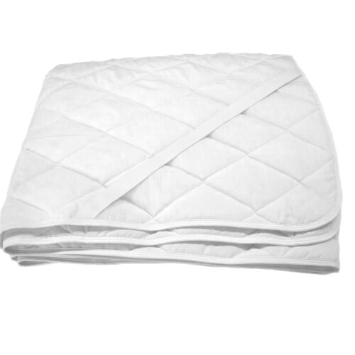 Protectie saltea matlasata si impermeabila, Sleepy, alba, 160×200 cm