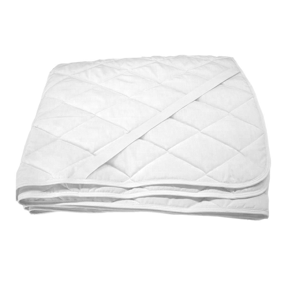 Protectie saltea matlasata si impermeabila, Sleepy, alba, 140x200 cm
